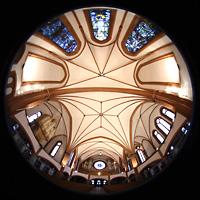 Berlin (Zehlendorf), Pauluskirche (Bach-Orgel), Gesamter Innenraum