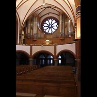 Berlin (Zehlendorf), Pauluskirche (Bach-Orgel), Hauptorgelempore