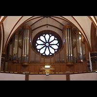 Berlin (Zehlendorf), Pauluskirche (Bach-Orgel), Hauptorgel