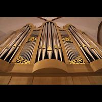 Berlin (Zehlendorf), Pauluskirche (Bach-Orgel), Prospekt der Bach-Orgel von Rowan West