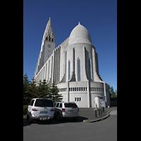 Reykjavík (Reykjavik), Hallgrímskirkja (Chororgel), Ansicht vom Chor aus