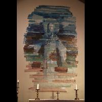 Skálholt, Skálholtskirkja, Mosaik im Altarraum