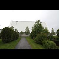 Reykjavík (Reykjavik), Langholtskirkja, Seitenansicht