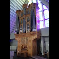 Reykjavík (Reykjavik), Langholtskirkja, Orgel seitlich