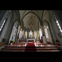 Reykjavík (Reykjavik), Landakotskirkja, Dómkirkja Krists Konungs, Christkönigs-Kathedrale), Chorraum