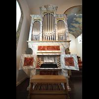 Hafnarfjörður (Hafnafjördur), Kirkja (Romantische Orgel), Barockorgel mit Spieltisch