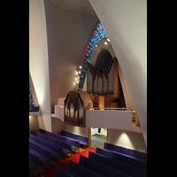 Kópavogur, Kópavogskirkja, Orgelempore seitlich
