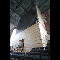 Neubrandenburg, Konzertkirche St. Marien, Orgel seitlich