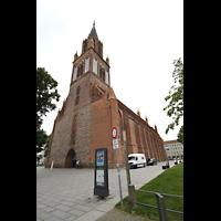 Neubrandenburg, Konzertkirche St. Marien, Konzertkirche von außen