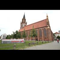 Neubrandenburg, Konzertkirche St. Marien, Konzertkirche Außenansicht