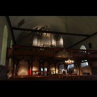 Trondheim, Vår Frue Kirke (Liebfrauenkirche) / Bymision, Orgelempore