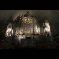 Trondheim, Vår Frue Kirke (Liebfrauenkirche) / Bymision, Orgel mit Spieltisch