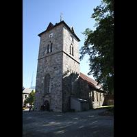 Trondheim, Vår Frue Kirke (Liebfrauenkirche) / Bymision, Turm