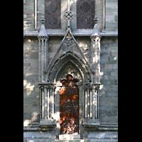 Trondheim, Nidarosdomen (Wagner-Orgel), Seitenportal