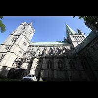 Trondheim, Nidarosdomen (Wagner-Orgel), Seitenansicht