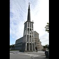 Bodø (Bodo), Domkirke, Außenansicht mit Turm