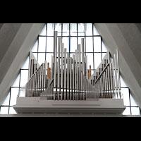 Tromsø - Tromsdalen, Ishavskatedralen (Eismeer-Kathedrale), Orgel