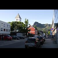 Svolvær (Svolvaer), Kirke, Kirche im Ort