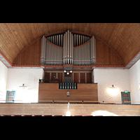 Svolvær (Svolvaer), Kirke, Orgelempore