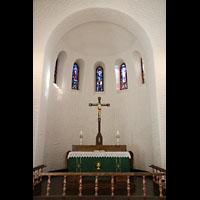 Svolvær (Svolvaer), Kirke, Chorraum