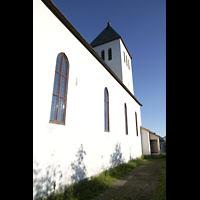 Svolvær (Svolvaer), Kirke, Seitenansicht