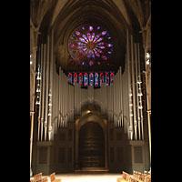 Trondheim, Nidarosdomen (Wagner-Orgel), Große Steinmeyer/Kuhn-Orgel