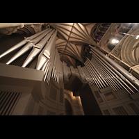 Trondheim, Nidarosdomen (Wagner-Orgel), Prospekt der Hauptorgel perspektivisch
