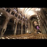 Trondheim, Nidarosdomen (Wagner-Orgel), Chororgel und Hauptorgel