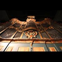 Trondheim, Nidarosdomen (Wagner-Orgel), Prospekt der Wagner-Orgel perspektivisch
