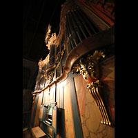 Trondheim, Nidarosdomen (Wagner-Orgel), Wagner-Orgel mit Spieltisch