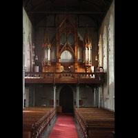 Bergen, Domkirke, Orgelempore