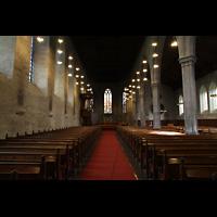Bergen, Domkirke, Innenraum in Richtung Chor