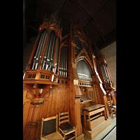 Bergen, Domkirke, Orgel seitlich