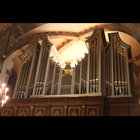 Bergen, Mariakirke, Orgelempore