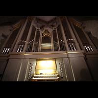 Bergen, Mariakirke, Orgel mit Spieltisch