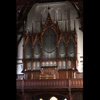 Bergen, Johanneskirke, Orgelempore
