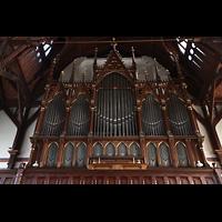 Bergen, Johanneskirke, Orgel perspektivisch
