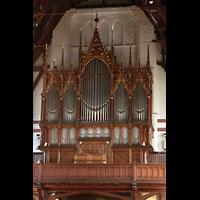 Bergen, Johanneskirke, Orgel