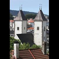 Bergen, Mariakirke, Blick vom Øvre Blekeveien zur Kirche