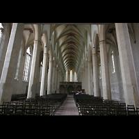 Erfurt, Predigerkirche, Innenraum / Hauptschiff in Richtung Chor