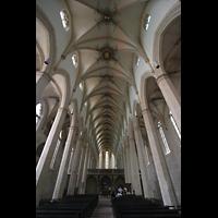 Erfurt, Predigerkirche, Hauptschiff mit Lettner