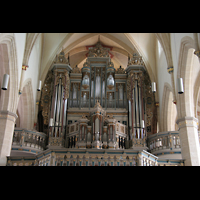 Erfurt, Predigerkirche, Orgel