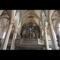 Erfurt, Predigerkirche, Orgelempore