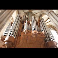 Erfurt, Dom St. Marien, Orgel-Perspektive