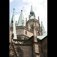 Erfurt, Dom St. Marien, Turmdächer
