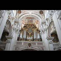 Passau, Dom St. Stephan, Hauptorgel, Evangelienorgel und Epistelorgel