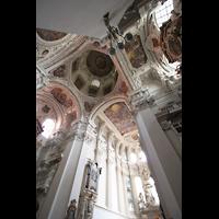 Passau, Dom St. Stephan, Vierungskuppel und Chorraum