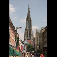 Ulm, Münster (Hauptorgel), Turm