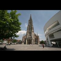 Ulm, Münster (Hauptorgel), Münsterplatz und Turm