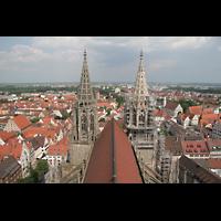 Ulm, Münster (Hauptorgel), Das Münster von oben